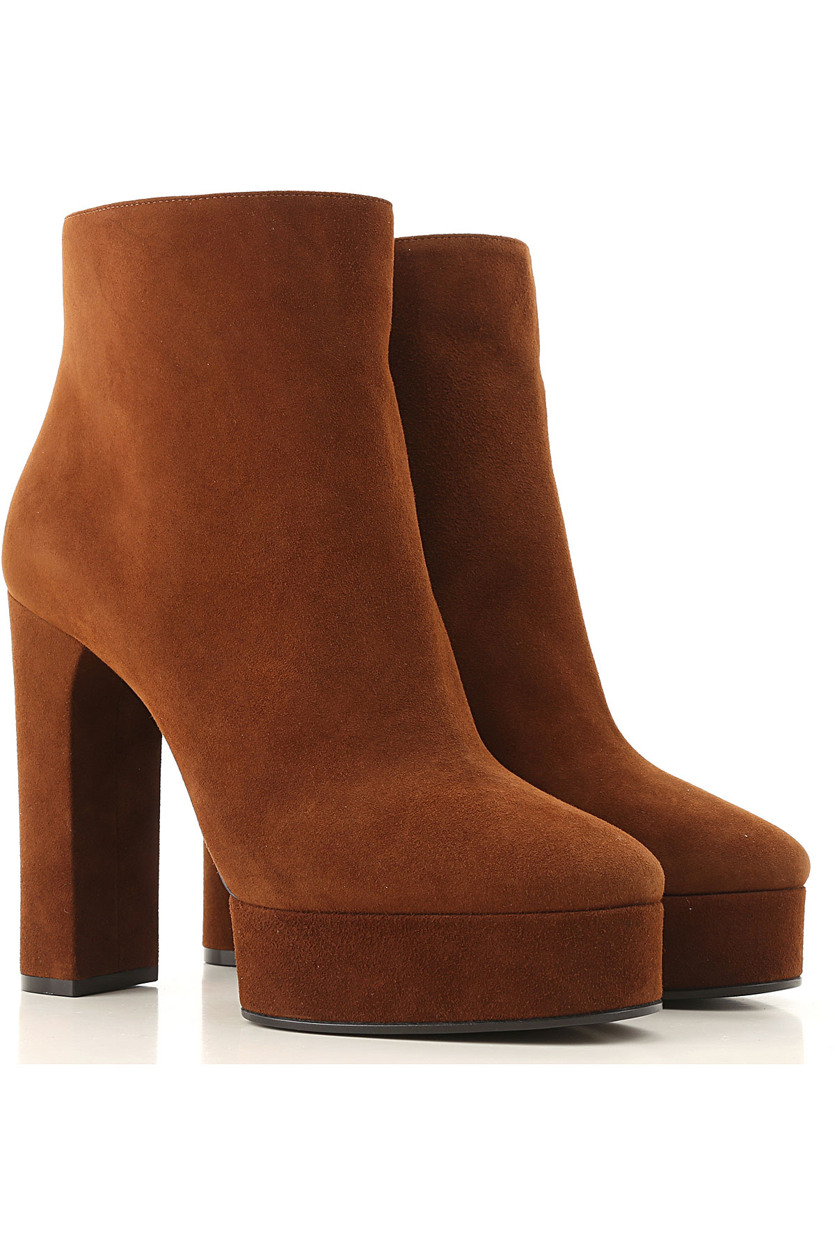 Casadei Boots for Women, Booties On Sale, Tobacco, Suede leather, 2019, 10 6 7 8 9
