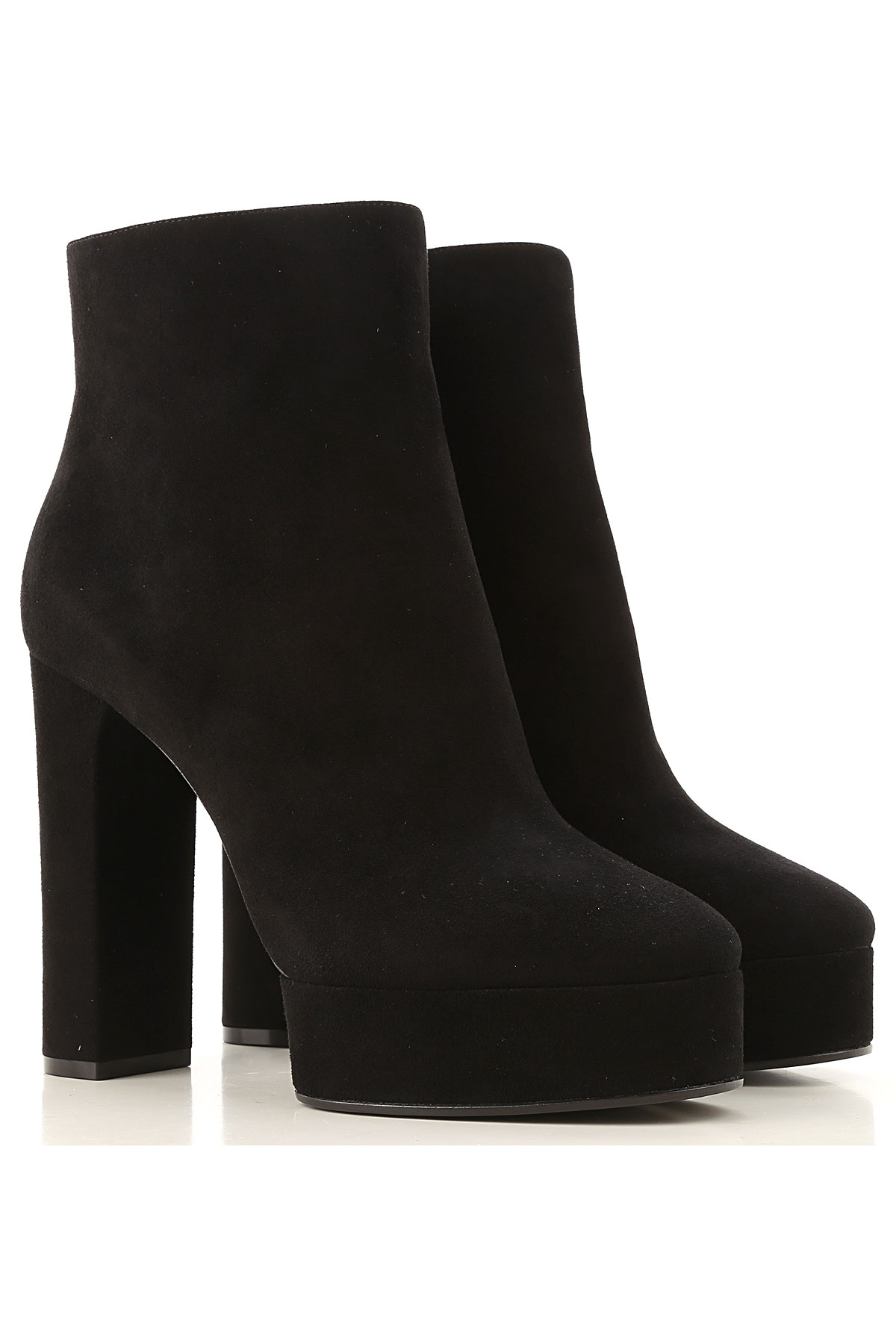 Casadei Boots for Women, Booties On Sale, Black, Suede leather, 2019, 10 7 8 9 9.5