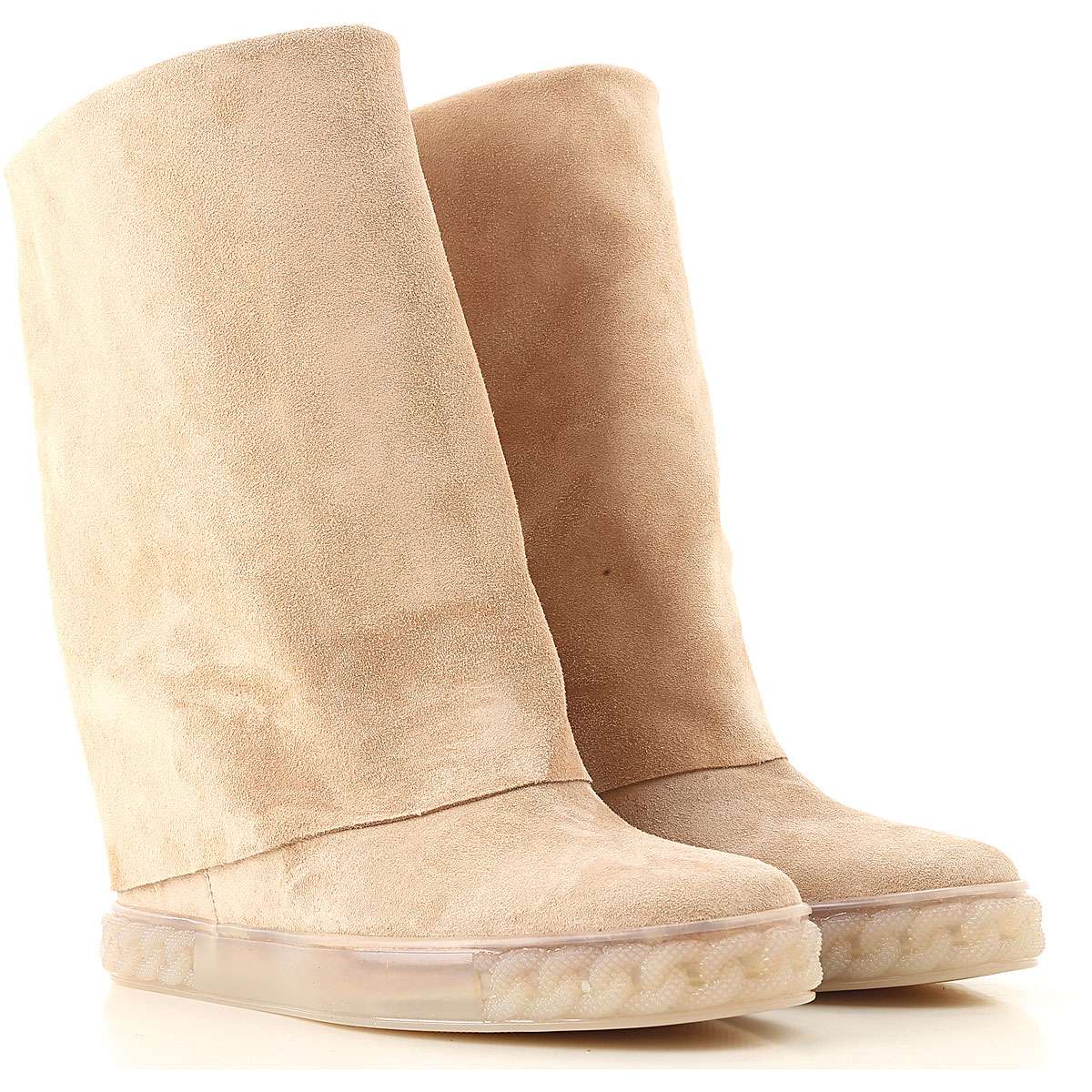 Casadei Boots for Women, Booties On Sale, cappuccino, Suede leather, 2019, 6 6.5 7 8 9