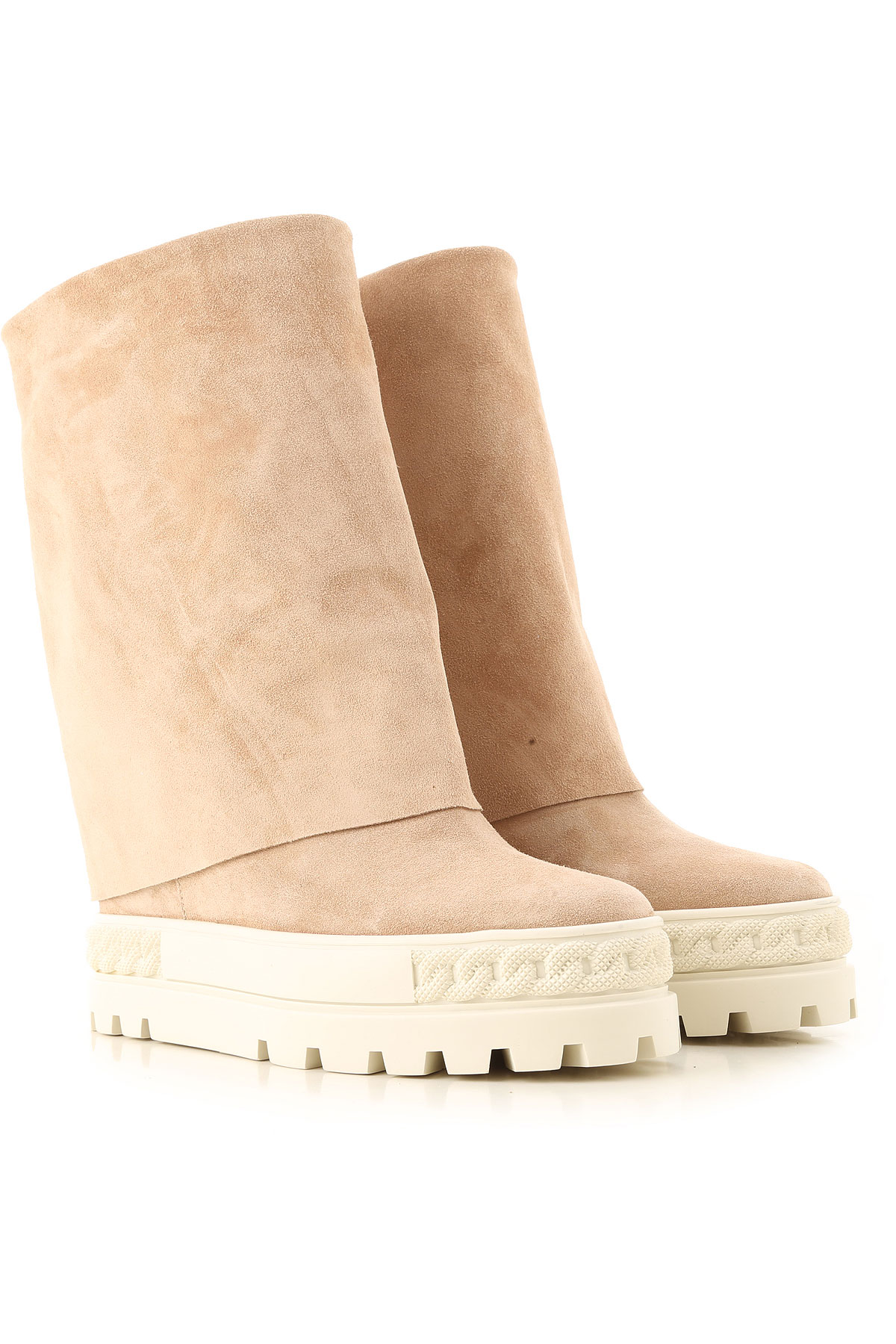 Casadei Boots for Women, Booties On Sale, cappuccino, Suede leather, 2019, 10 7 8 9