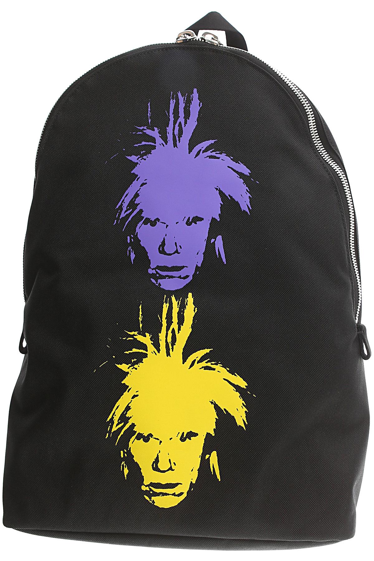 Image of Calvin Klein Backpack for Men, Black, Fabric, 2017