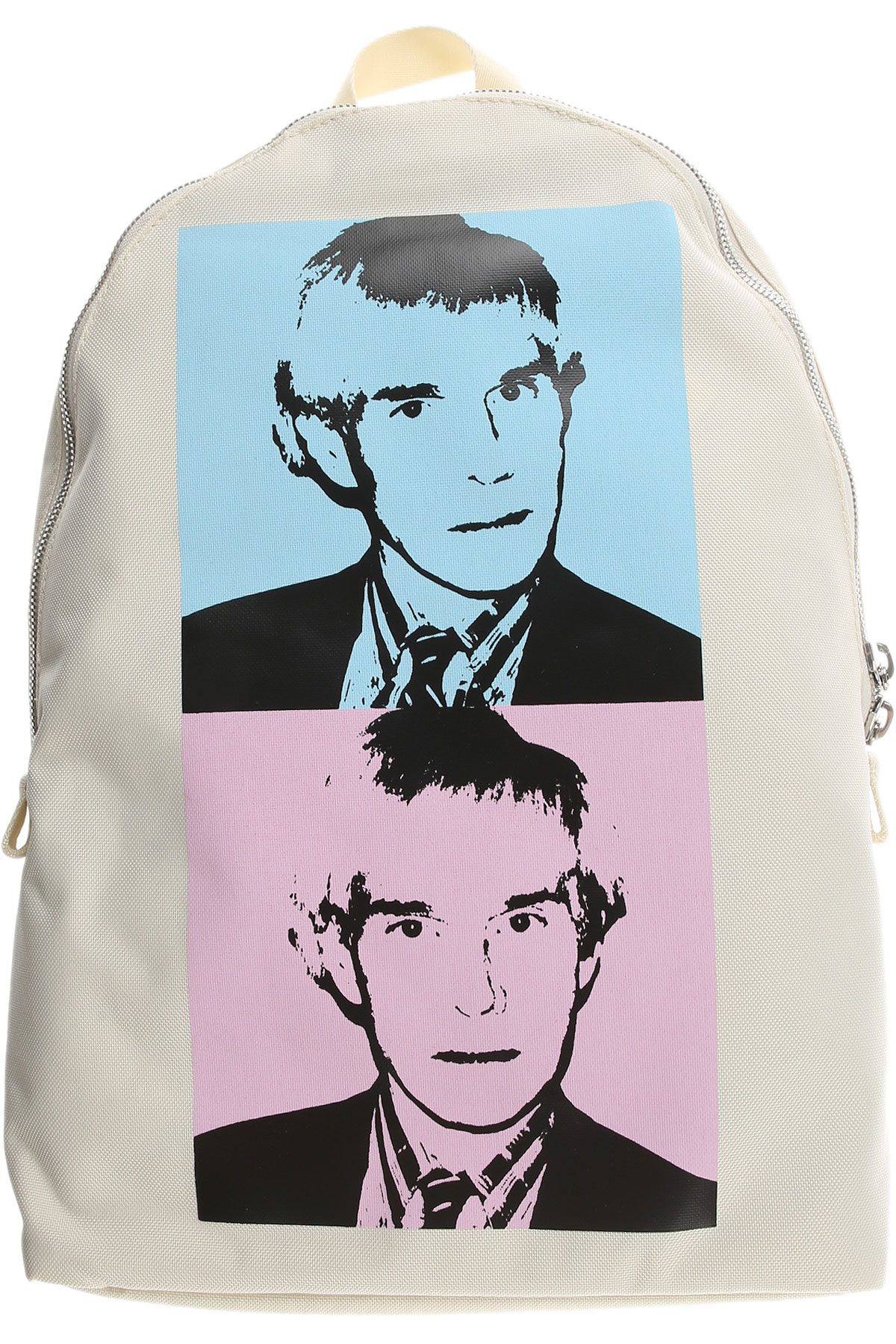 Image of Calvin Klein Backpack for Men, White, Fabric, 2017