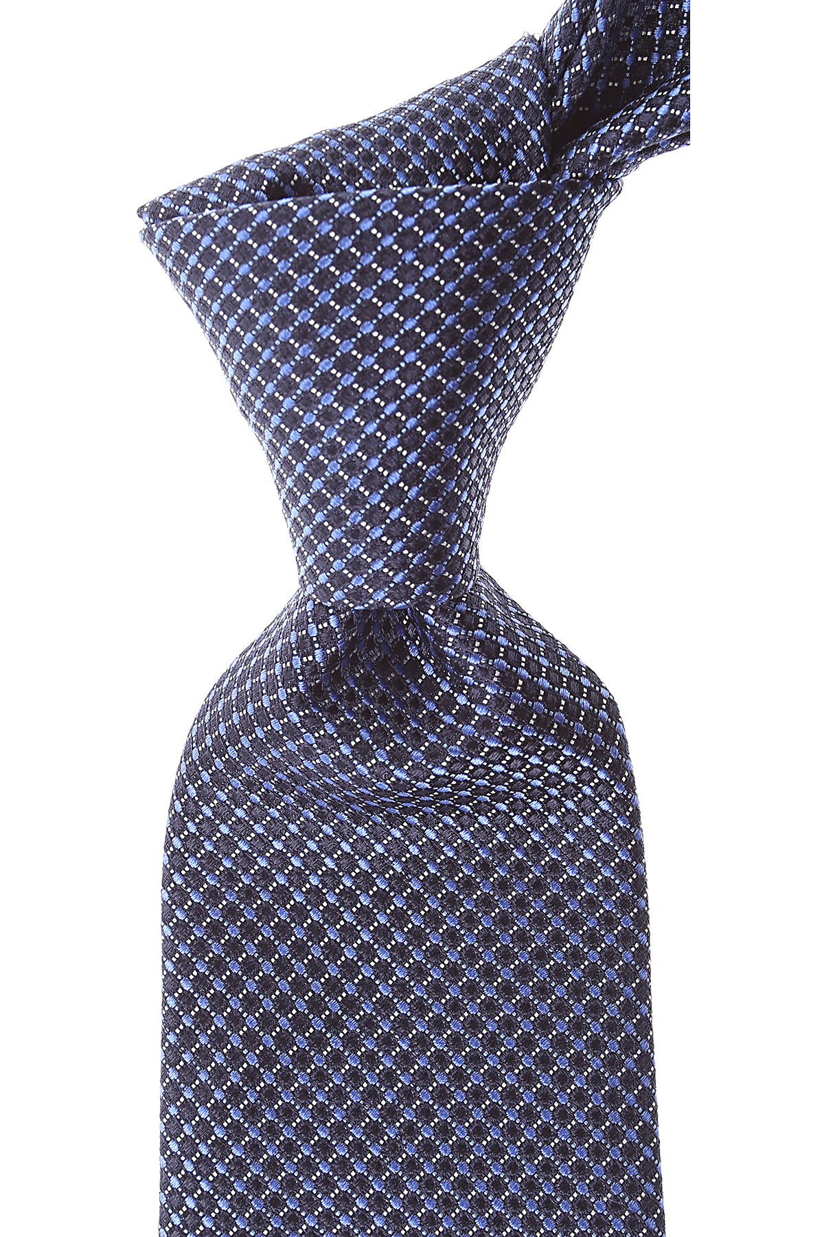 Canali Ties On Sale, Blue Navy, Silk, 2019