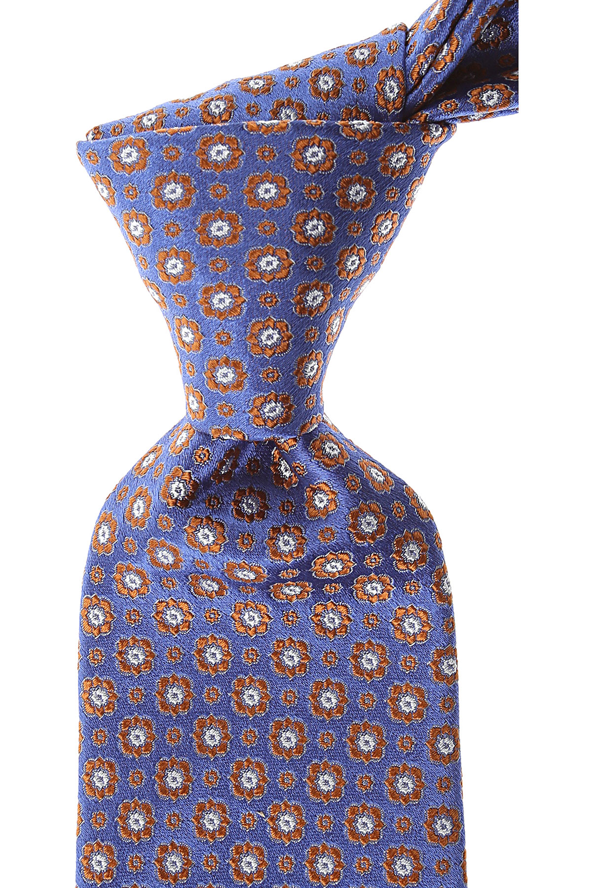 Canali Ties On Sale, Changing Sky Blue, Silk, 2019