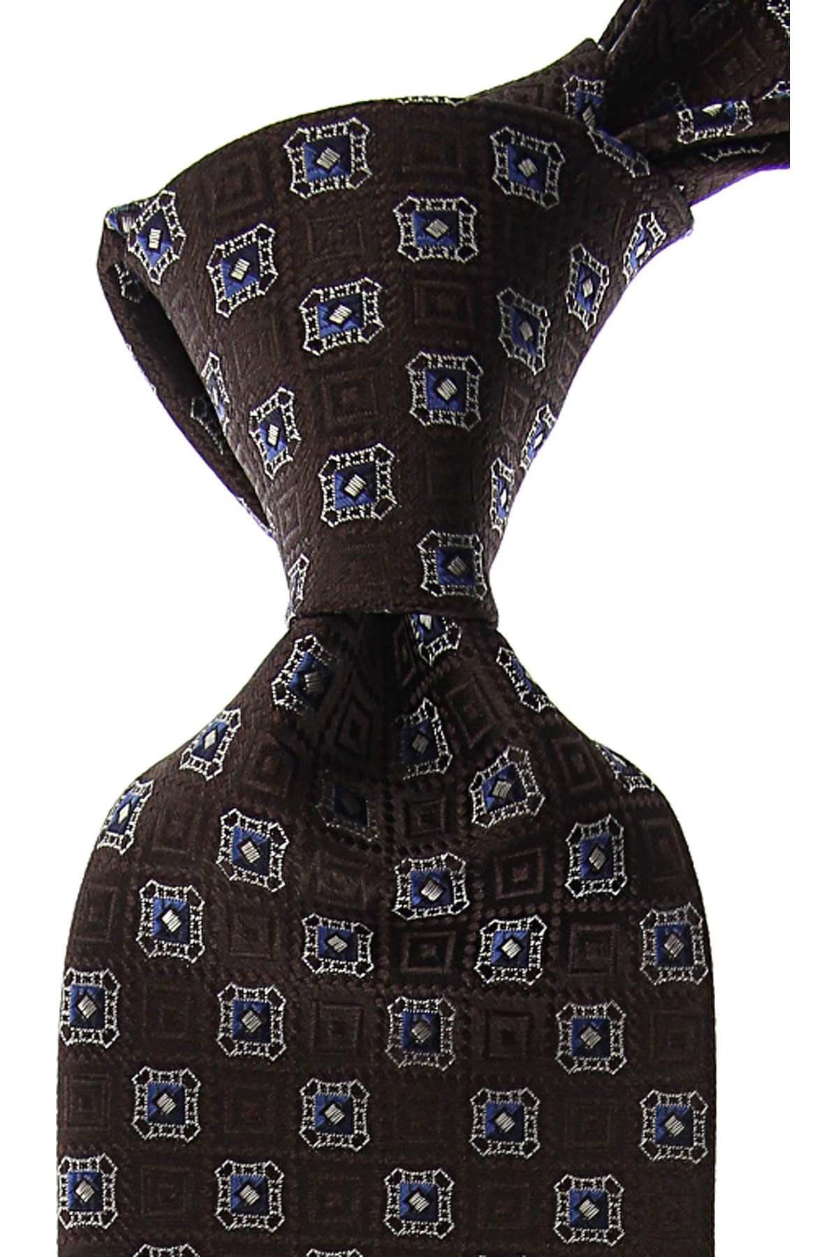 Canali Ties On Sale, Brown, Silk, 2019