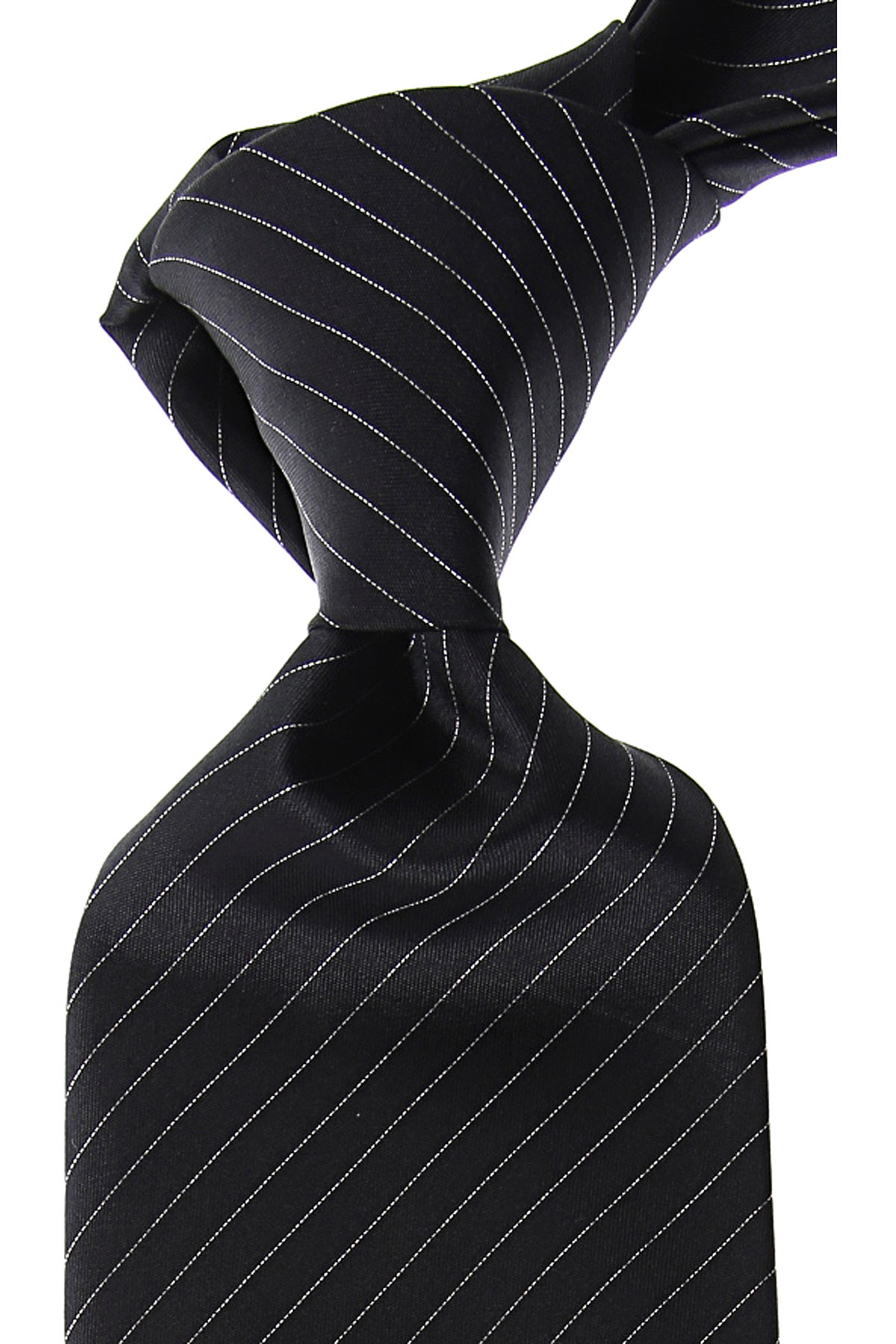Canali Ties On Sale, Black, Silk, 2019