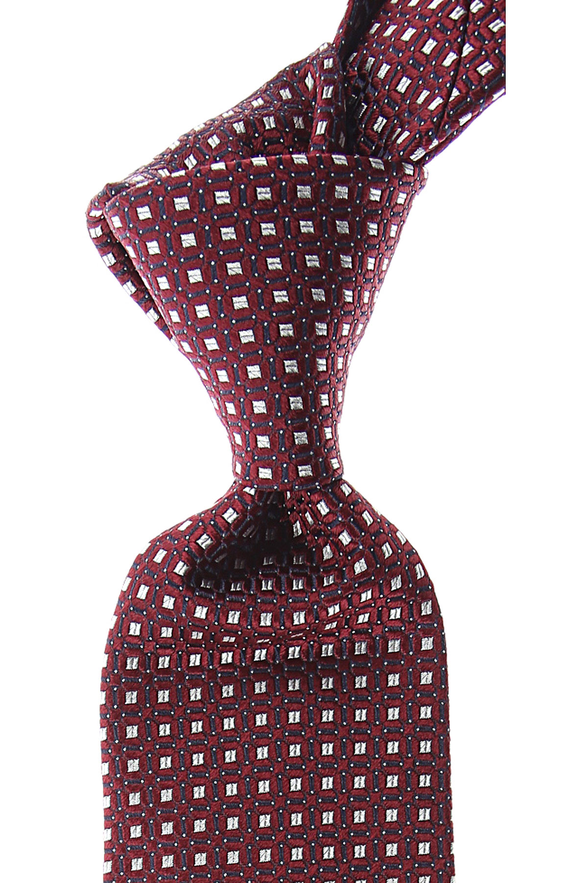 Canali Ties On Sale, Burgundy, Silk, 2019