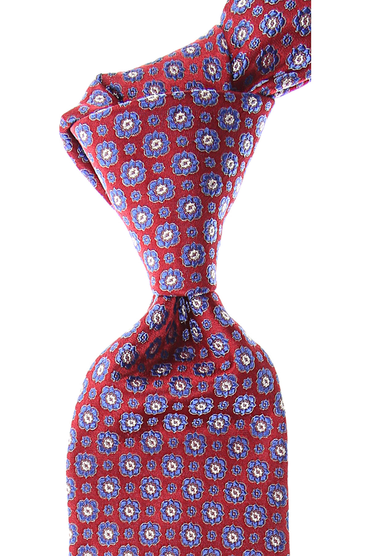 Canali Ties On Sale, Cardinal Red, Silk, 2019