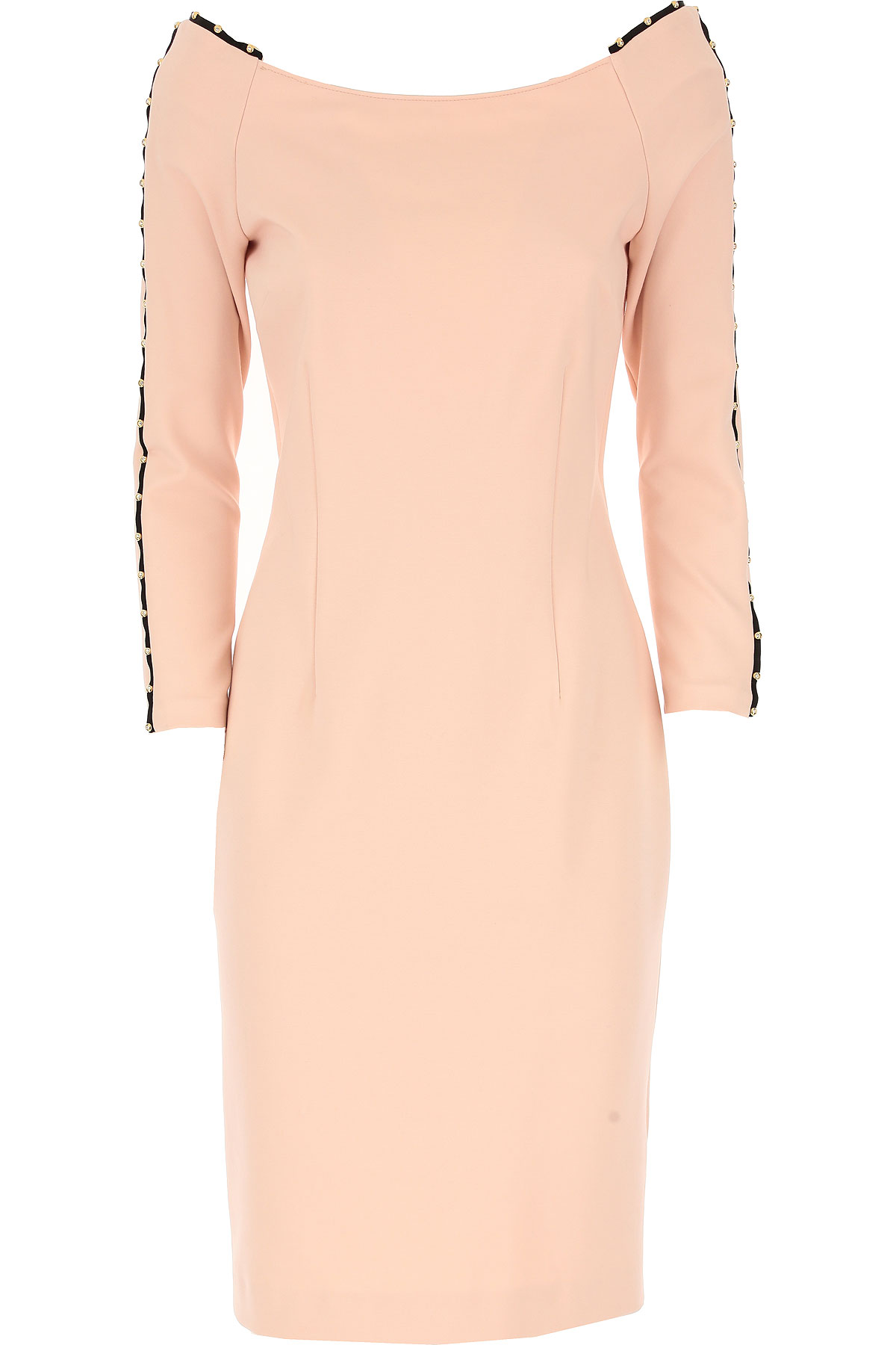 Roberto Cavalli Dress for Women, Evening Cocktail Party On Sale, Rose, Viscose, 2017, 4 6 USA-459524
