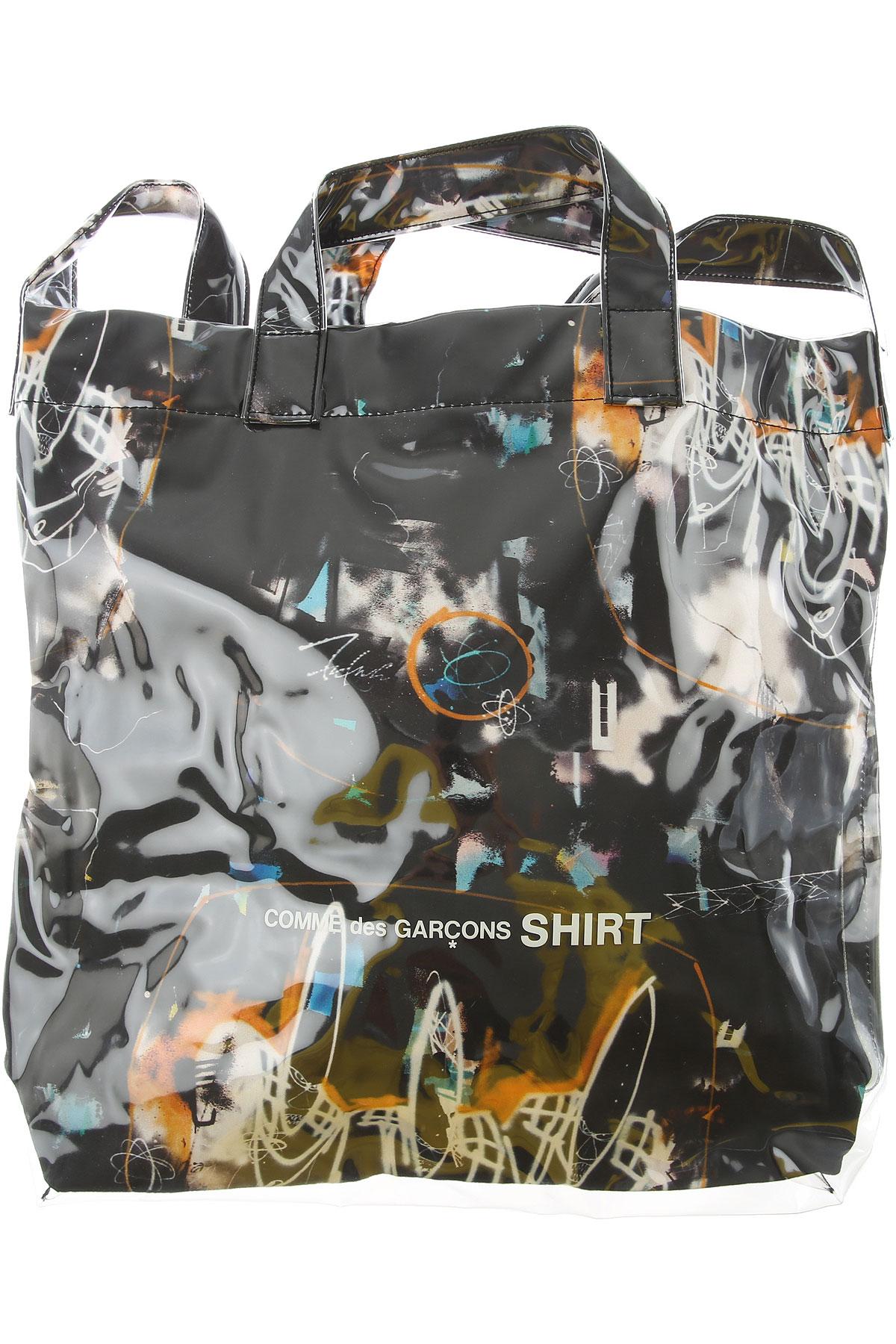 Comme des Garcons Top Handle Handbag, Black, polyurethane, 2019