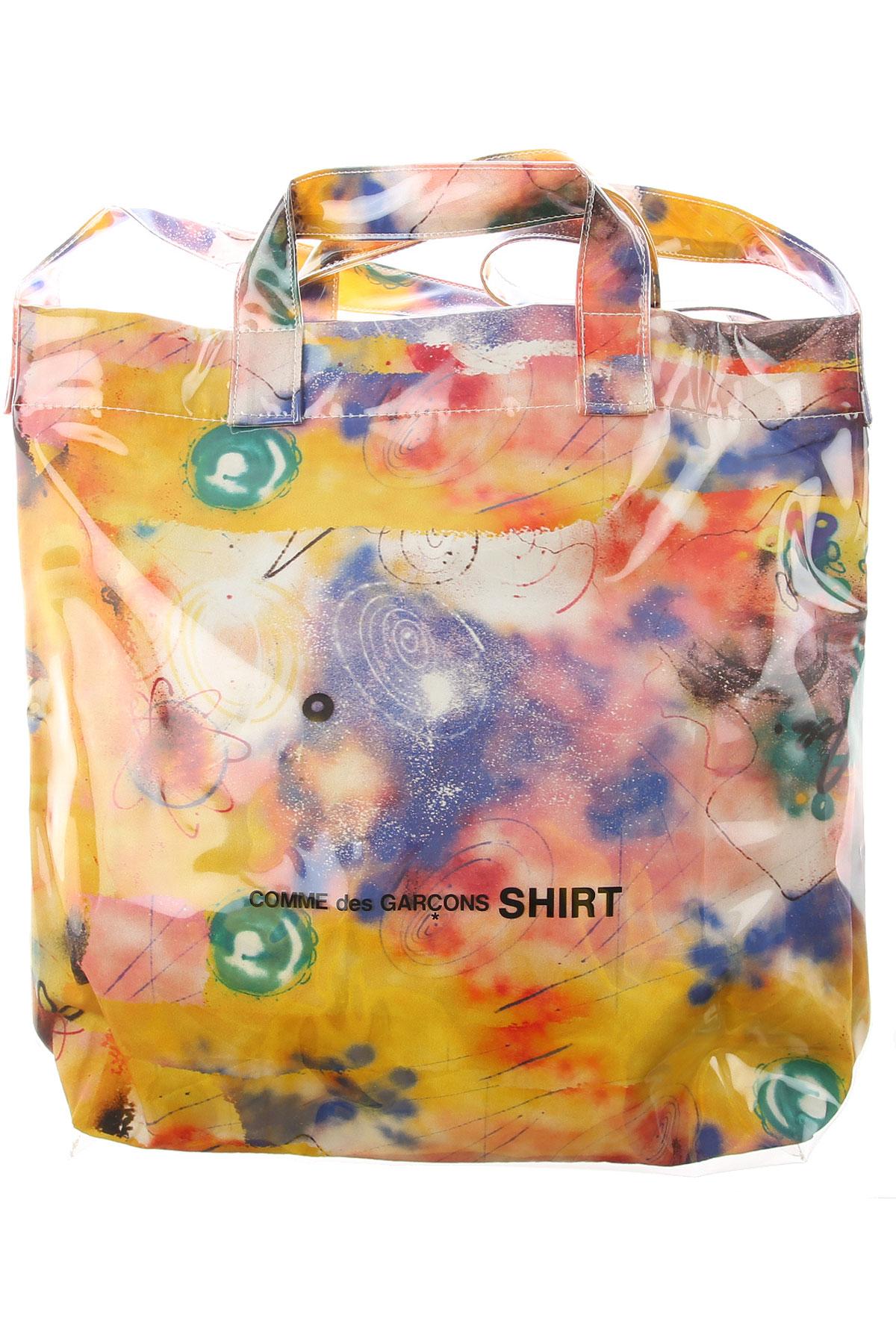 Comme des Garcons Top Handle Handbag, Yellow, polyurethane, 2019