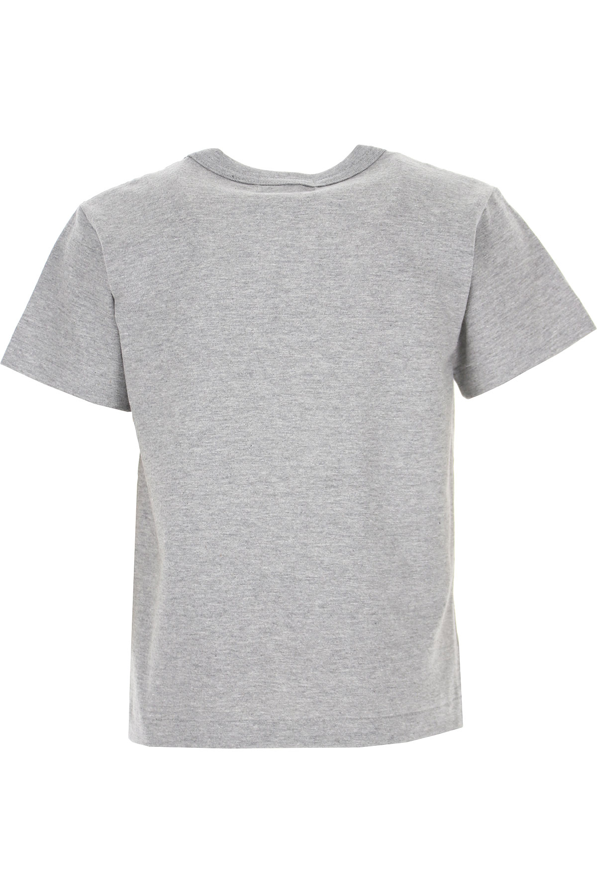 Comme des Garcons Kids T-Shirt for Girls On Sale, Grey, Cotton, 2019, 2Y 4Y 6Y