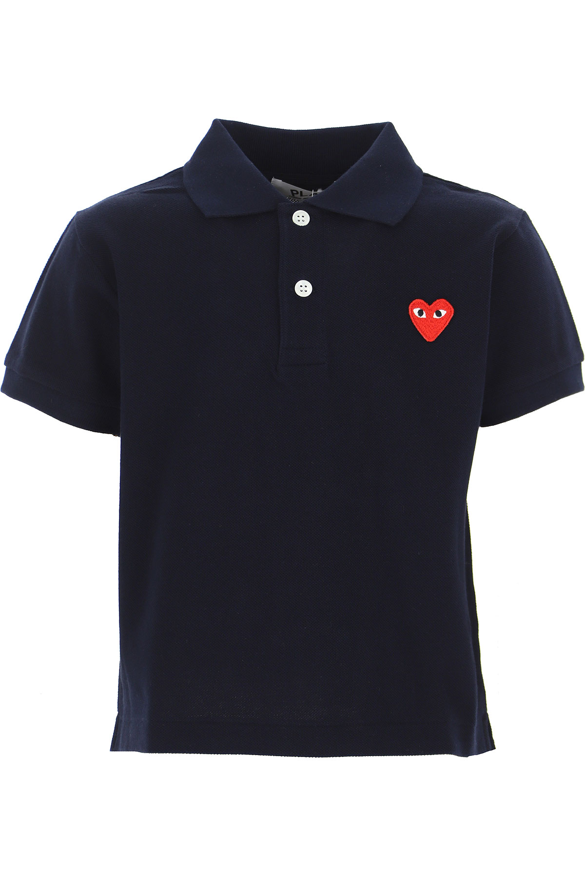 Comme des Garcons Kids Polo Shirt for Boys On Sale, Blue, Cotton, 2019, 2Y 4Y 6Y