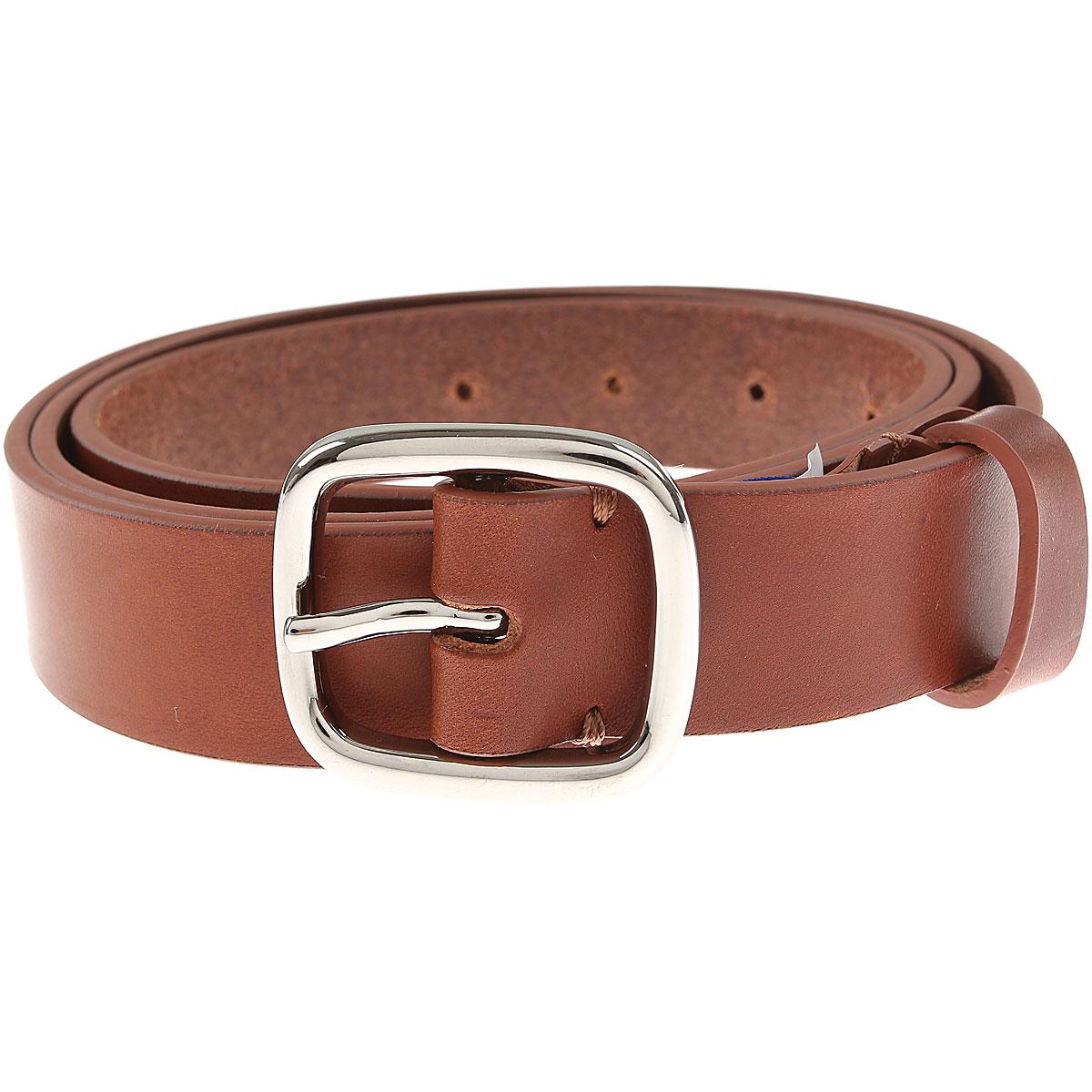 Comme des Garcons Mens Belts On Sale, Brown, Leather, 2019