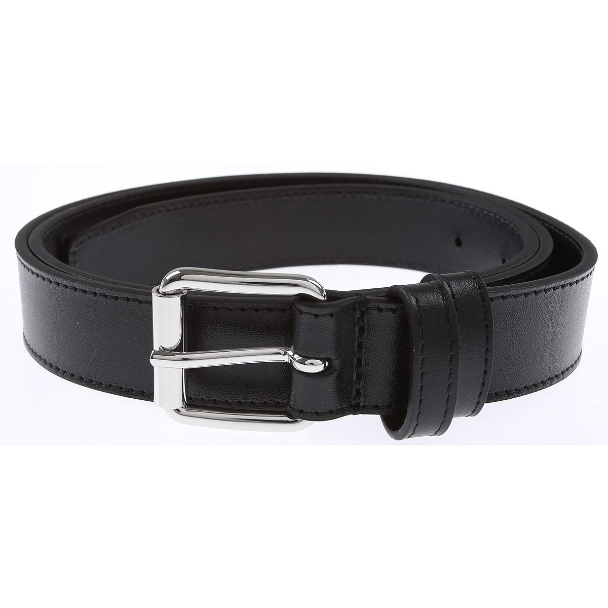 Comme des Garcons Mens Belts On Sale, Black, Leather, 2019