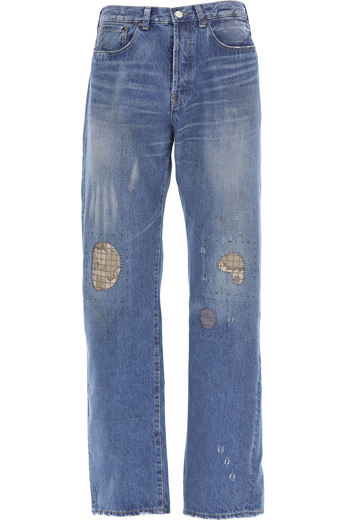 Comme des Garcons Jeans On Sale, Denim Blue, Cotton, 2019, M (EU 48) L (EU 50)