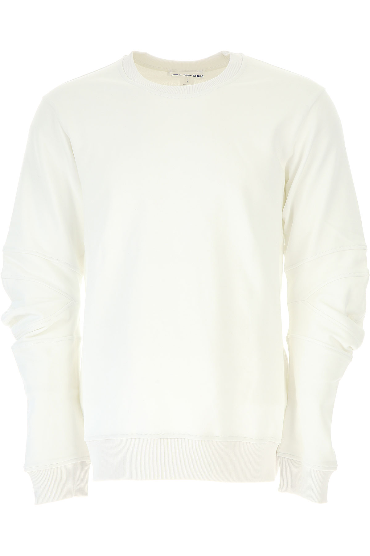 Comme des Garcons Sweatshirt for Men, White, Cotton, 2017, L M S XL USA-454424
