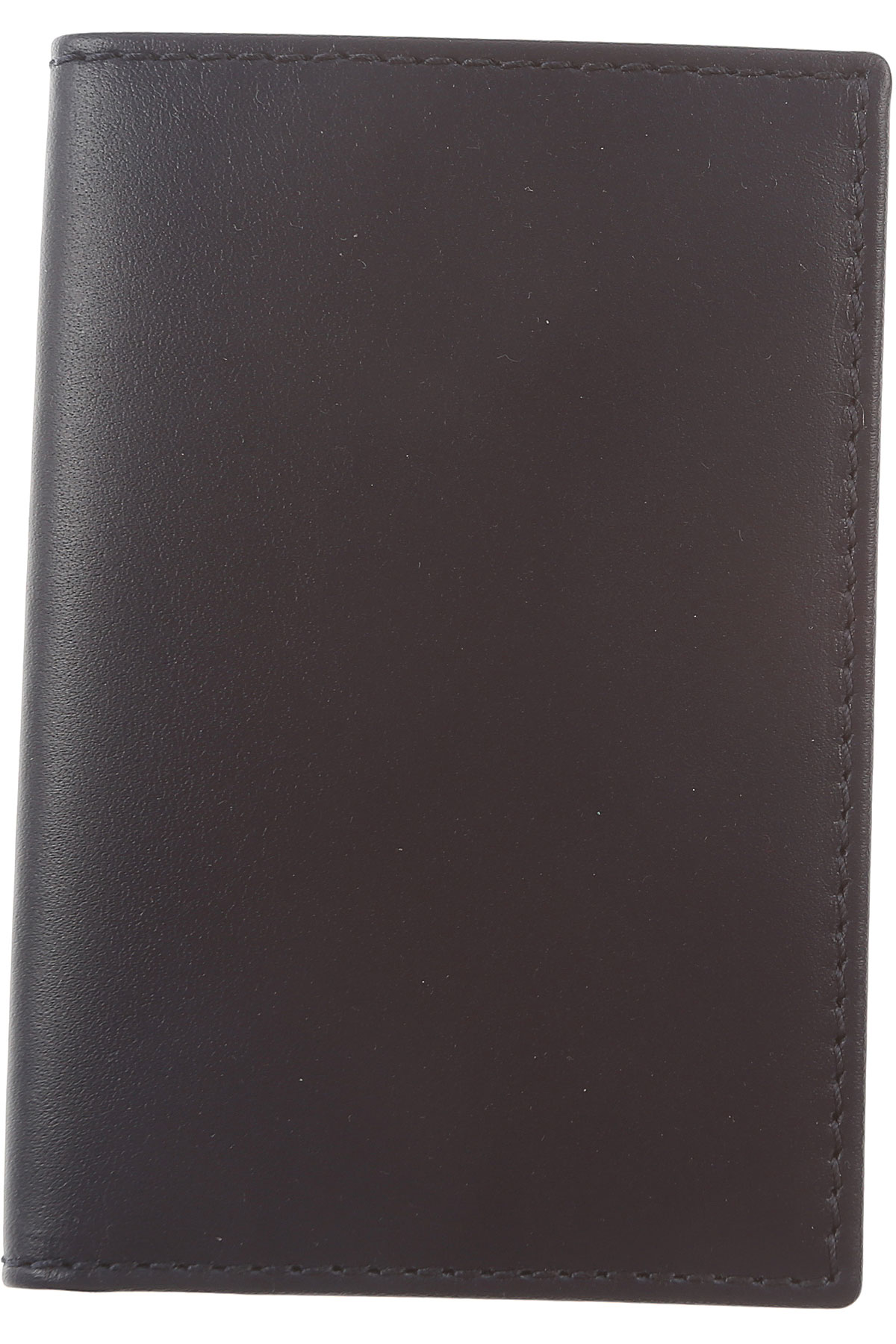 Image of Comme des Garcons Card Holder for Men, Blue Navy, Leather, 2017