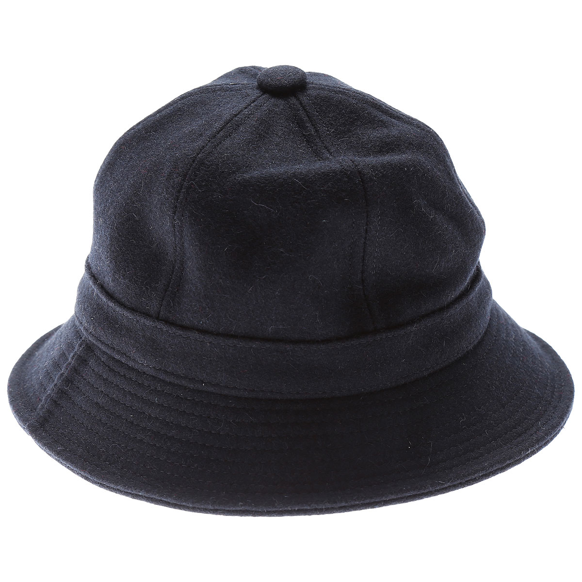 Comme des Garçons Chapeau Homme, Bleu foncé, Laine, 2017, L M