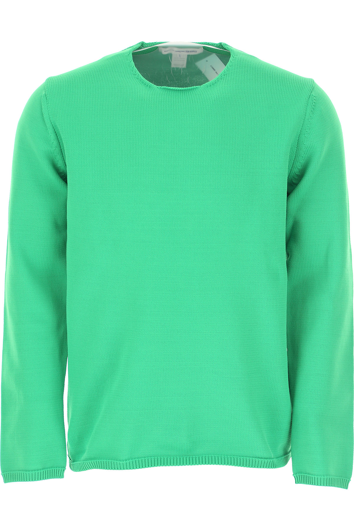 Comme des Garcons Sweater for Men Jumper On Sale, Grass Green, polyester, 2019, L M S XL