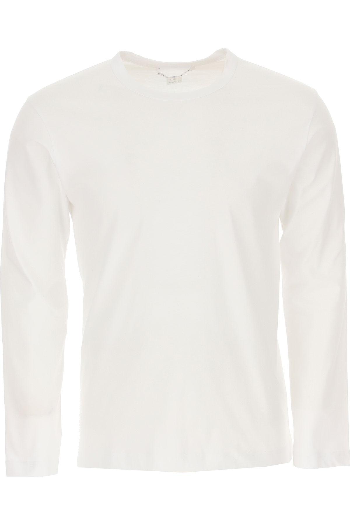 Comme des Garcons T-Shirt for Men On Sale, White, Cotton, 2019, M S
