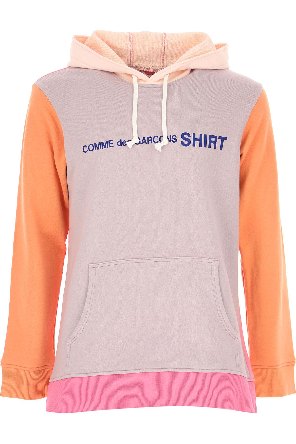 Comme des Garcons Sweatshirt for Men On Sale, Grey, Cotton, 2019, L S XL