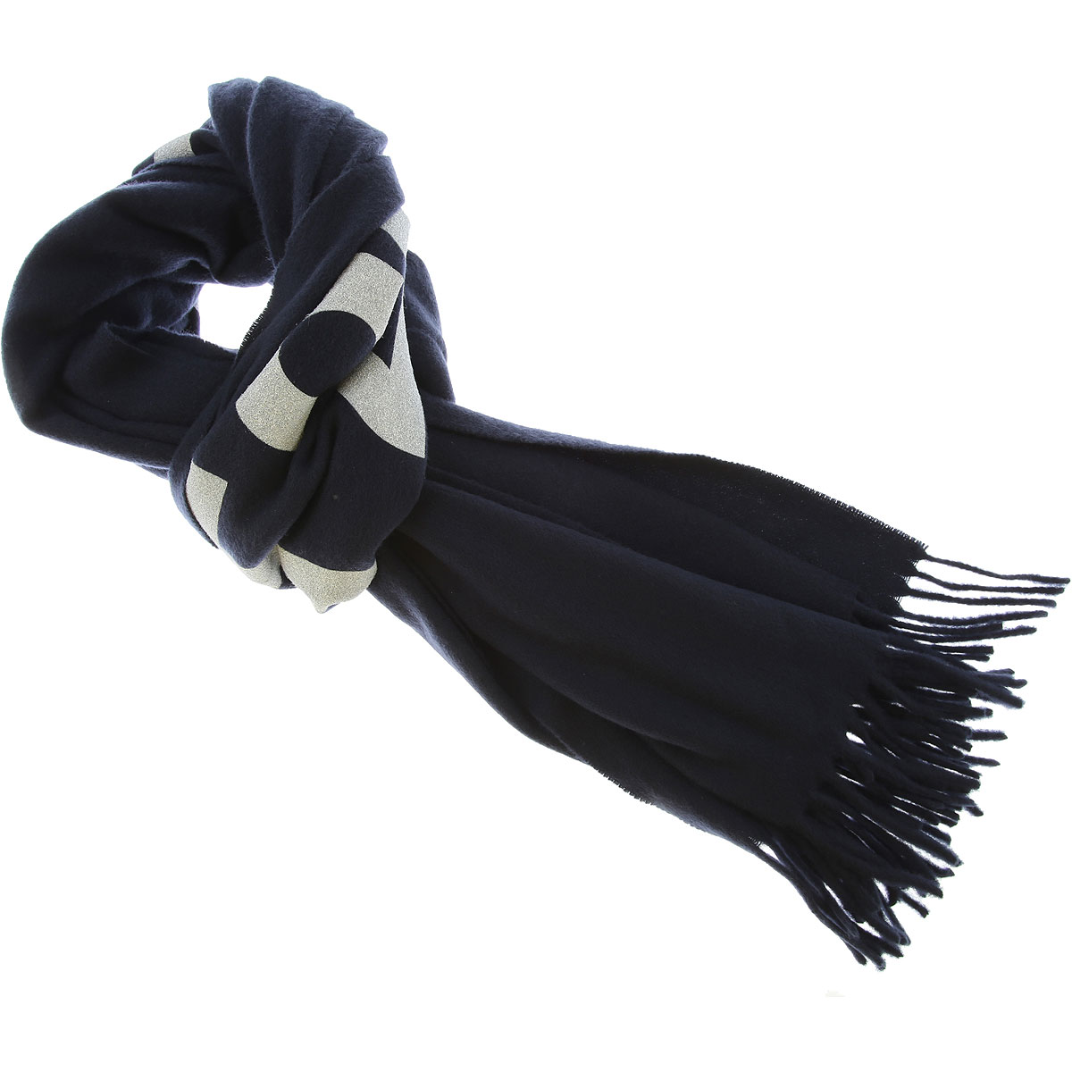 Comme des Garcons Scarf for Men On Sale, Midnight Blue, Wool, 2019