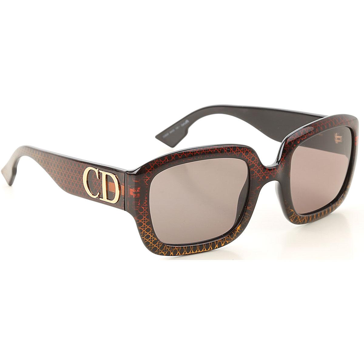 Christian Dior Sunglasses On Sale, Brown, 2019