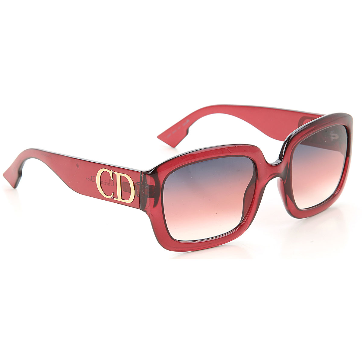 Christian Dior Sunglasses On Sale, Burgundy, 2019