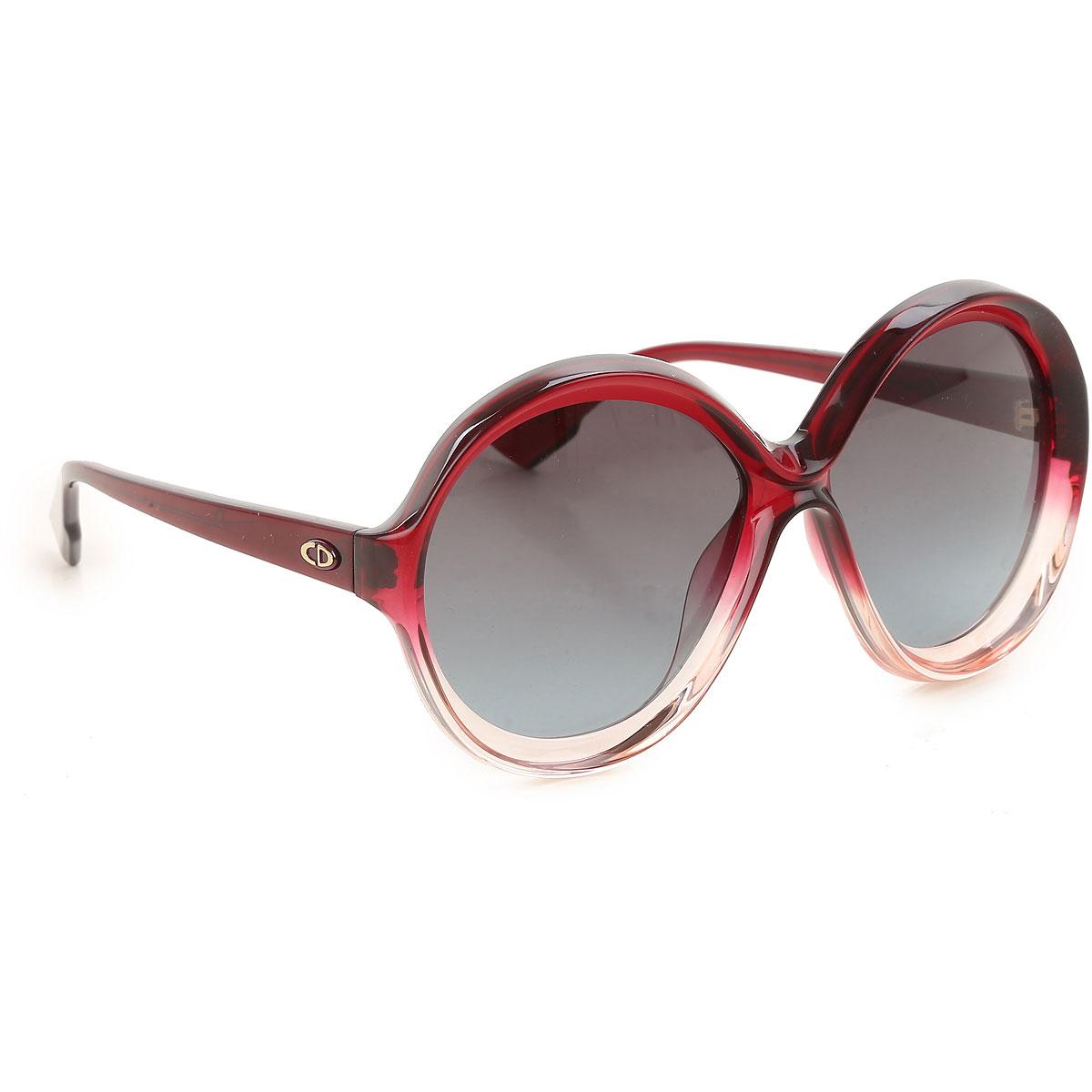 Christian Dior Sunglasses On Sale, Burgundy Shaded, 2019