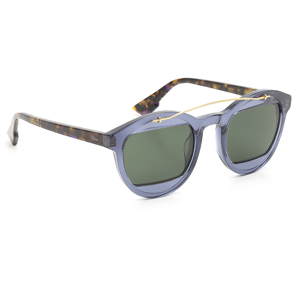 Christian Dior Sunglasses On Sale, Transparent Blue, 2019