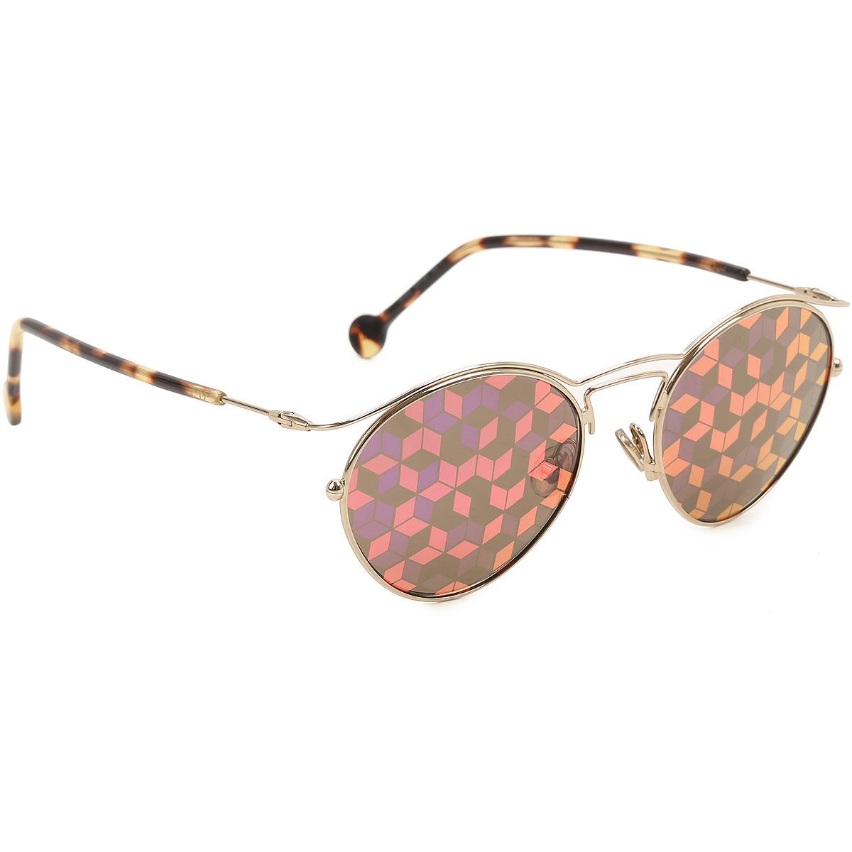 Christian Dior Sunglasses On Sale, Gold, 2019