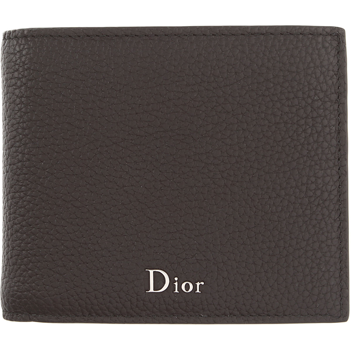 Image of Christian Dior Card Holder for Men, Black, Leather, 2017