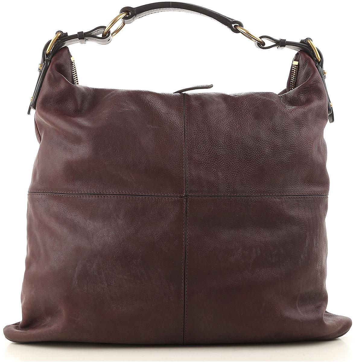 Celine Shoulder Bag for Women On Sale, Plum, Leather, 2017 USA-468276