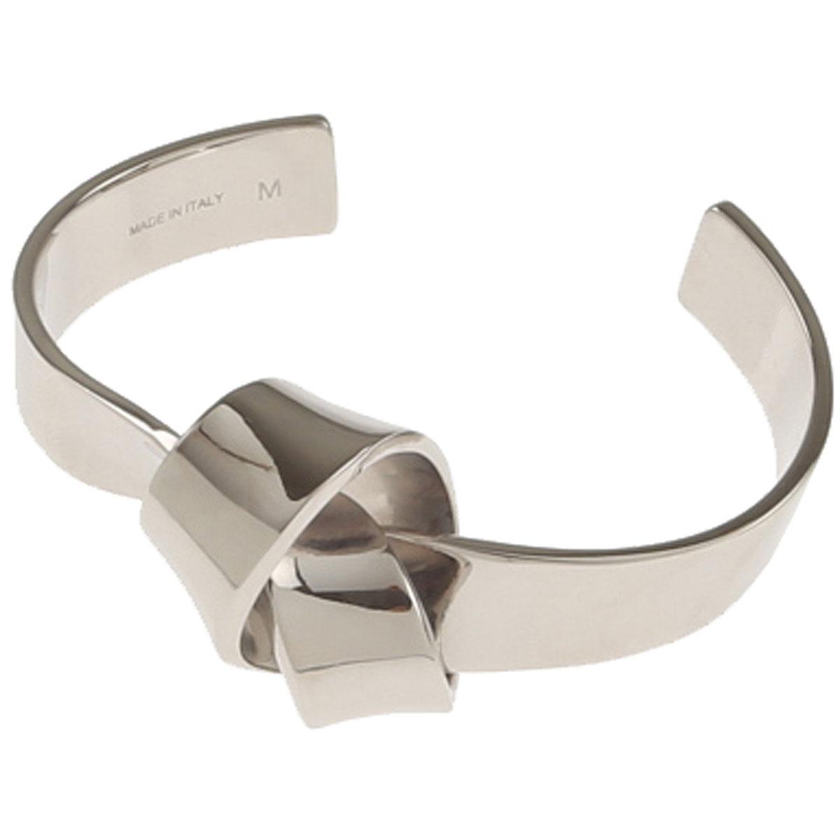 Image of Celine Bracelet for Women, Silver, Brass, 2017, One Size Medium