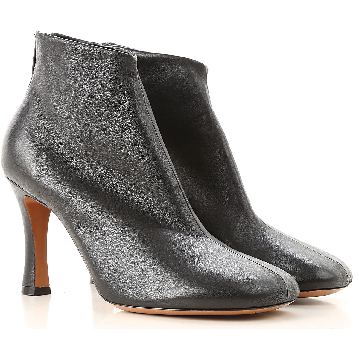Image of Celine Boots for Women, Booties, Black, Leather, 2017, 6 7 8 9