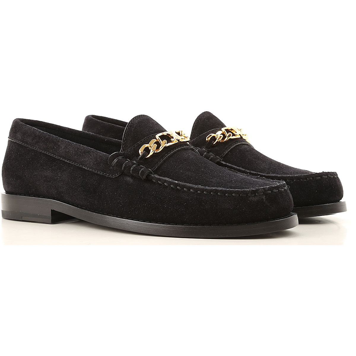 Celine Loafers for Women On Sale, Black, Suede leather, 2019, 10 6 6.5 9