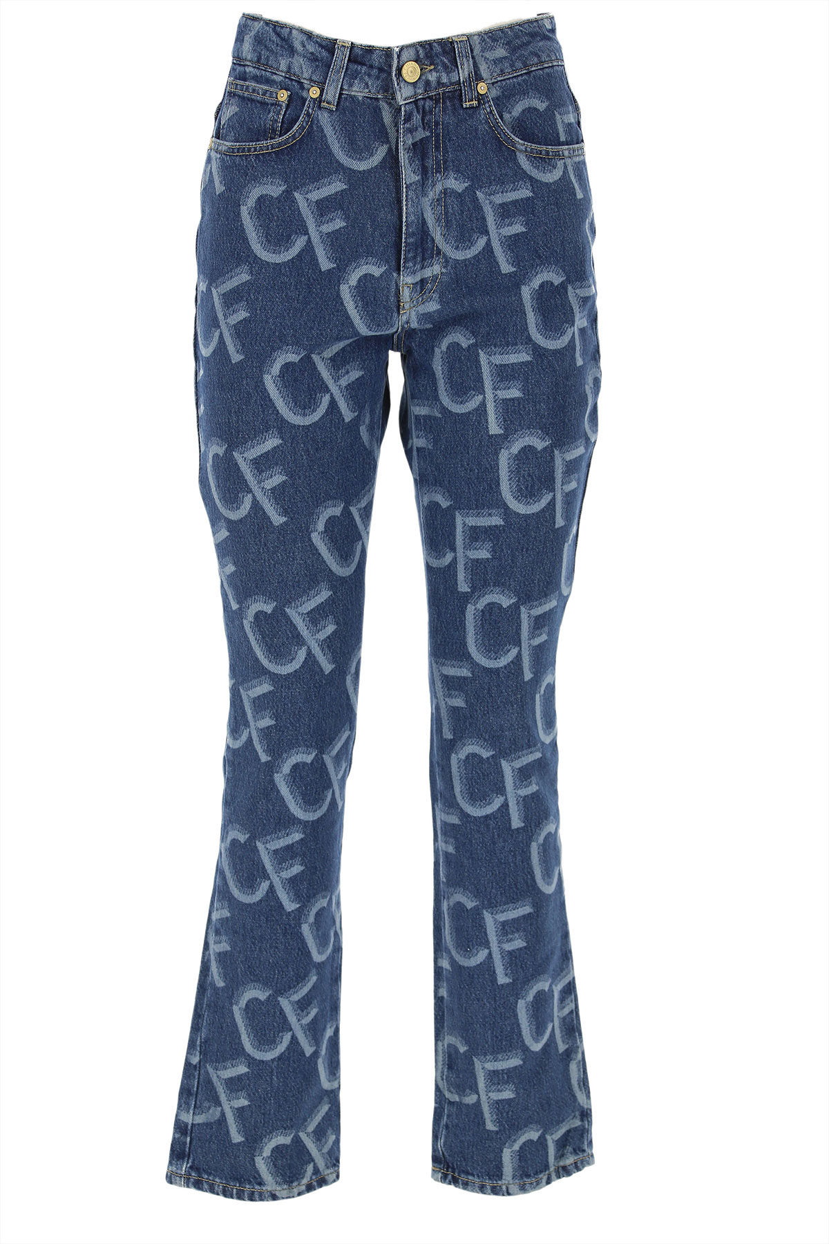 Chiara Ferragni Jeans, Denim Blue, Cotton, 2019, S (IT 40) M (IT 42 ) XS (IT 38)
