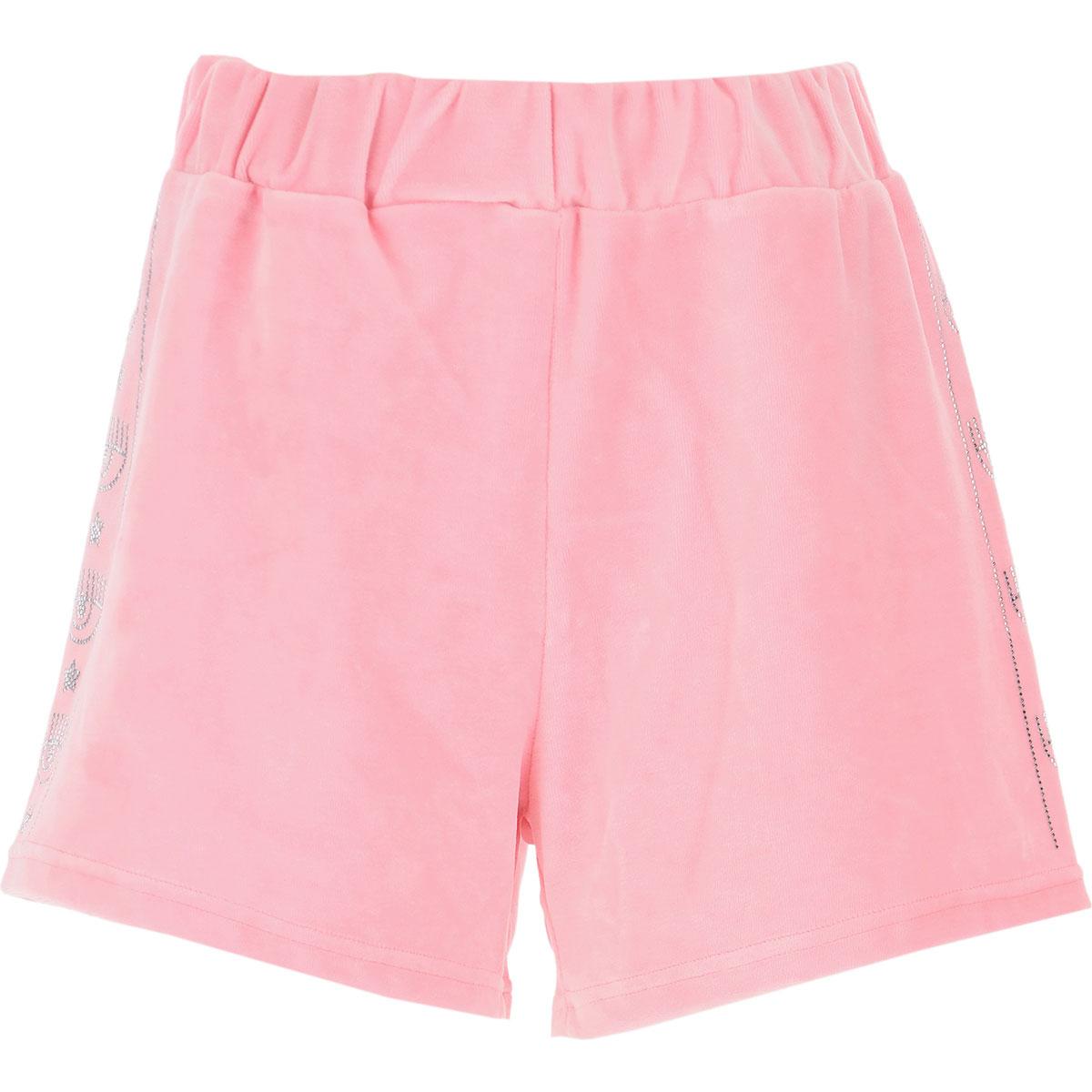 Chiara Ferragni Shorts for Women On Sale, Pink, Cotton, 2019, S (IT 40) M (IT 42 ) L (IT 44 ) XS (IT 38)
