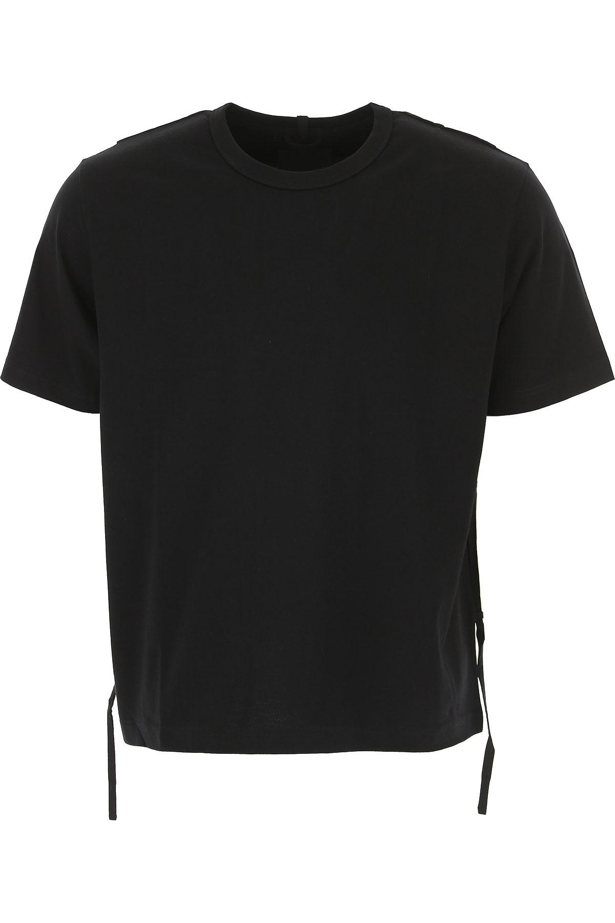 Craig Green T-shirt Homme Pas cher en Soldes, Noir, Coton, 2017, L M S