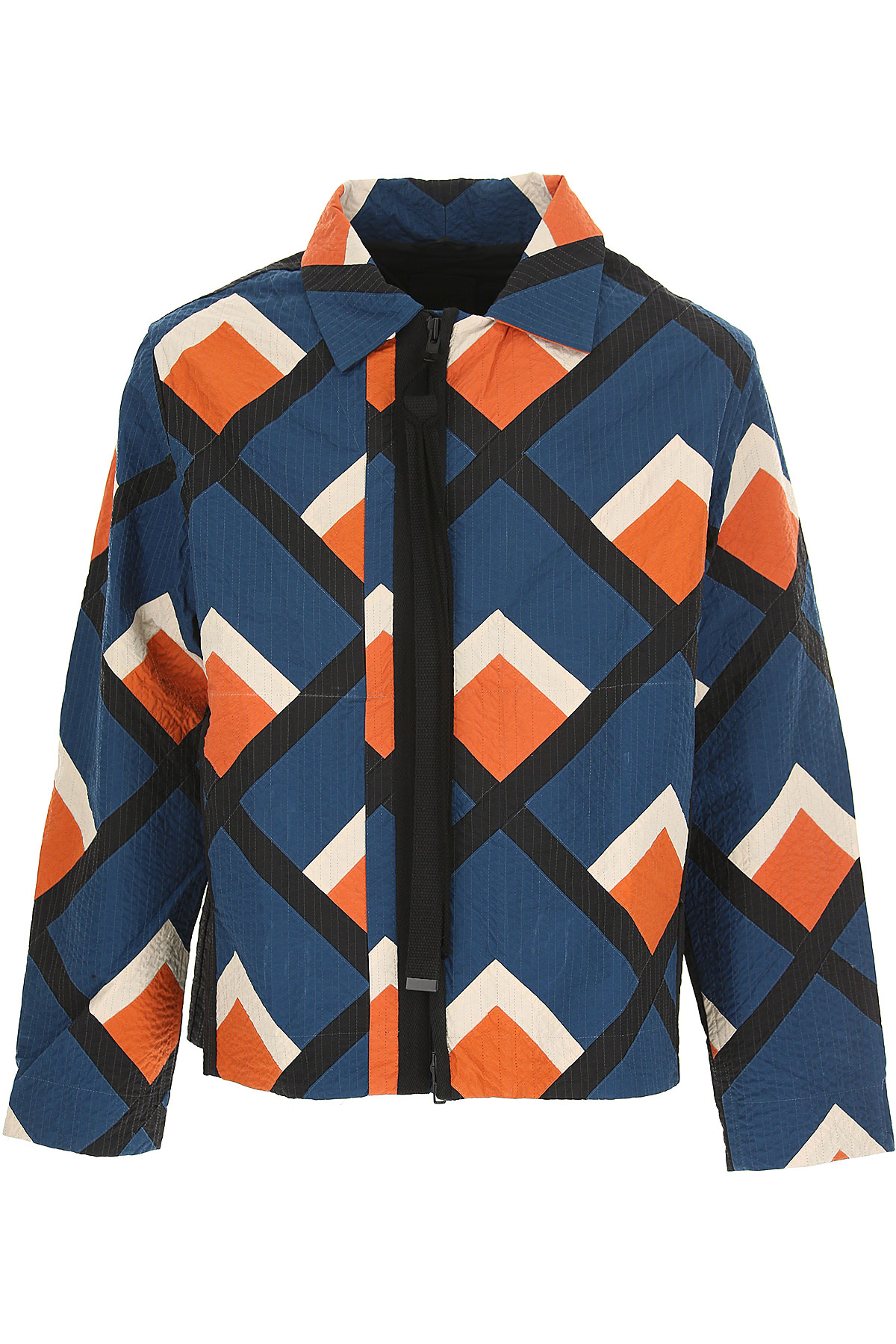 Craig Green Jacket for Men On Sale in Outlet, Petroleum Blue, Cotton, 2019, M S