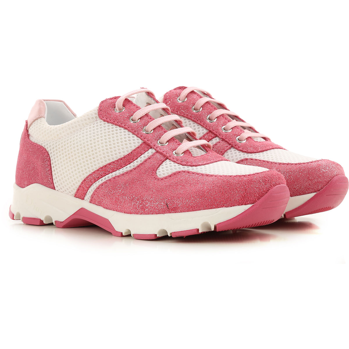 Christian Dior Kids Shoes for Girls On Sale in Outlet, Pink, Fabric, 2019, 29 30 31 32 33 34 35