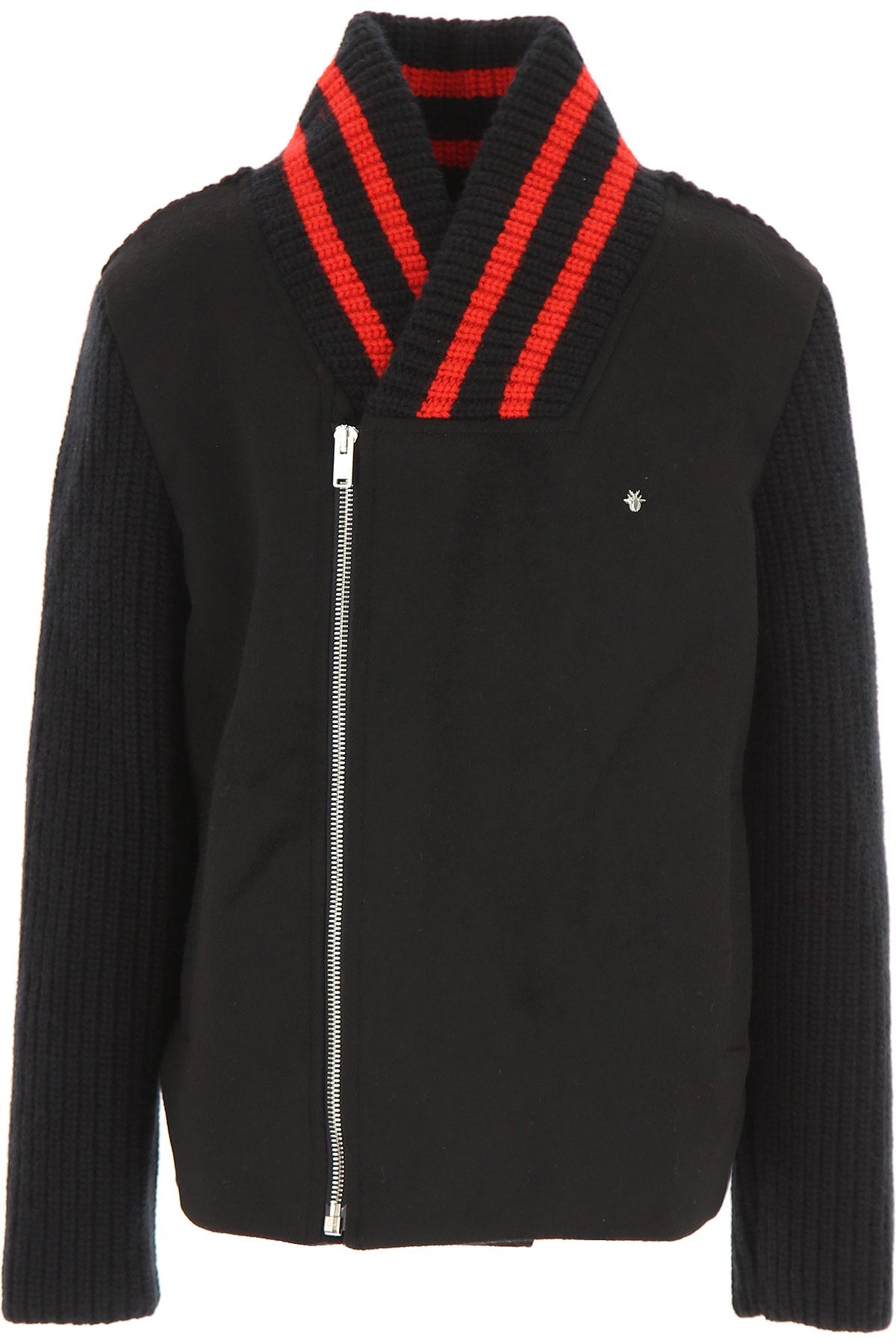 Image of Christian Dior Kids Jacket for Boys, Black, Wool, 2017, 10Y 14Y 8Y