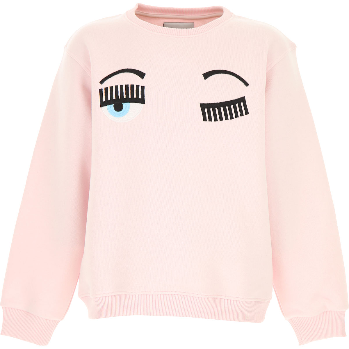Chiara Ferragni Kids Sweatshirts & Hoodies for Girls On Sale, Pink, Cotton, 2019, 10Y 10Y 12Y 12Y 14Y 14Y 6Y 8Y 8Y
