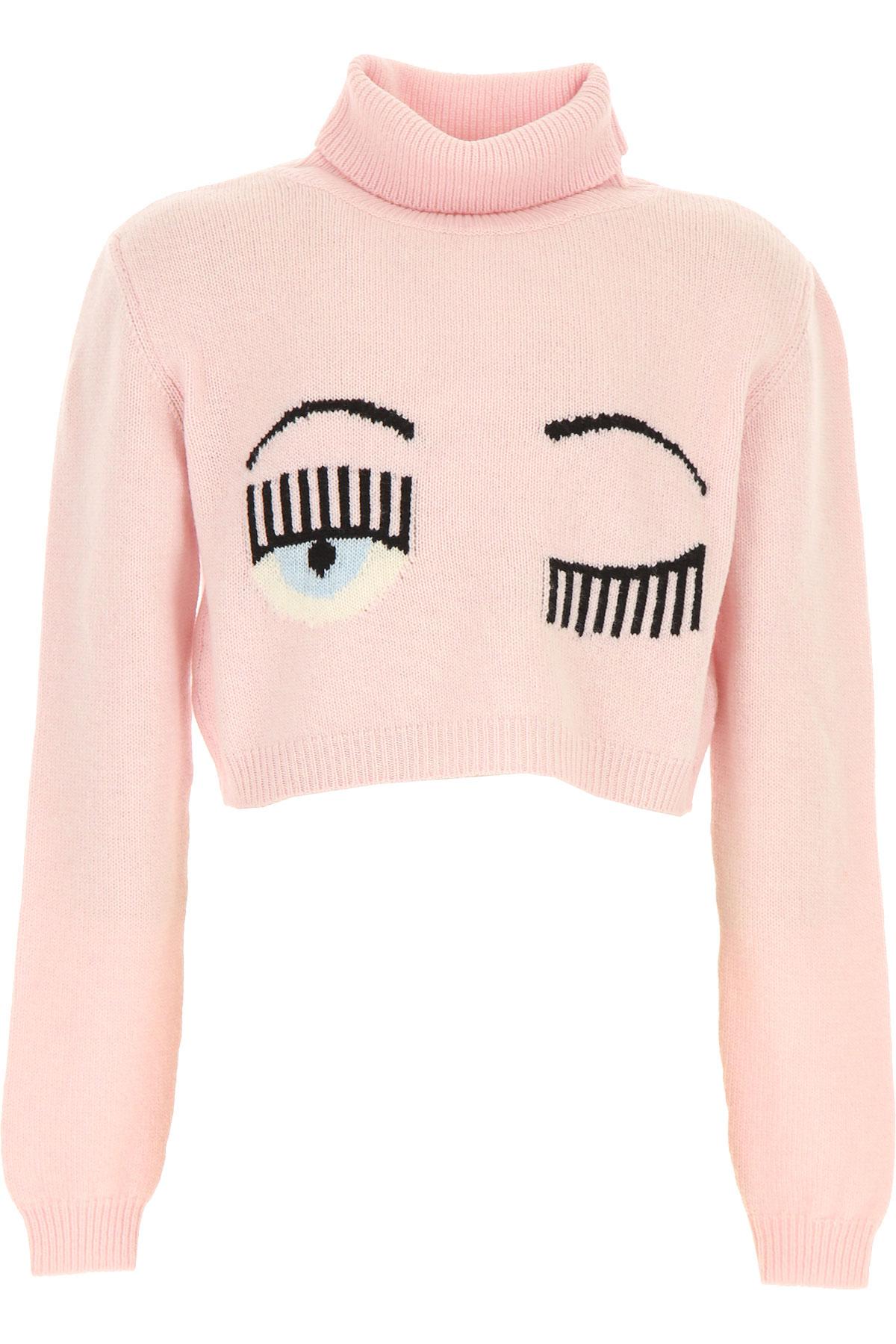 Chiara Ferragni Kids Sweaters for Girls On Sale, Pink, Wool, 2019, 10Y 12Y 14Y 8Y