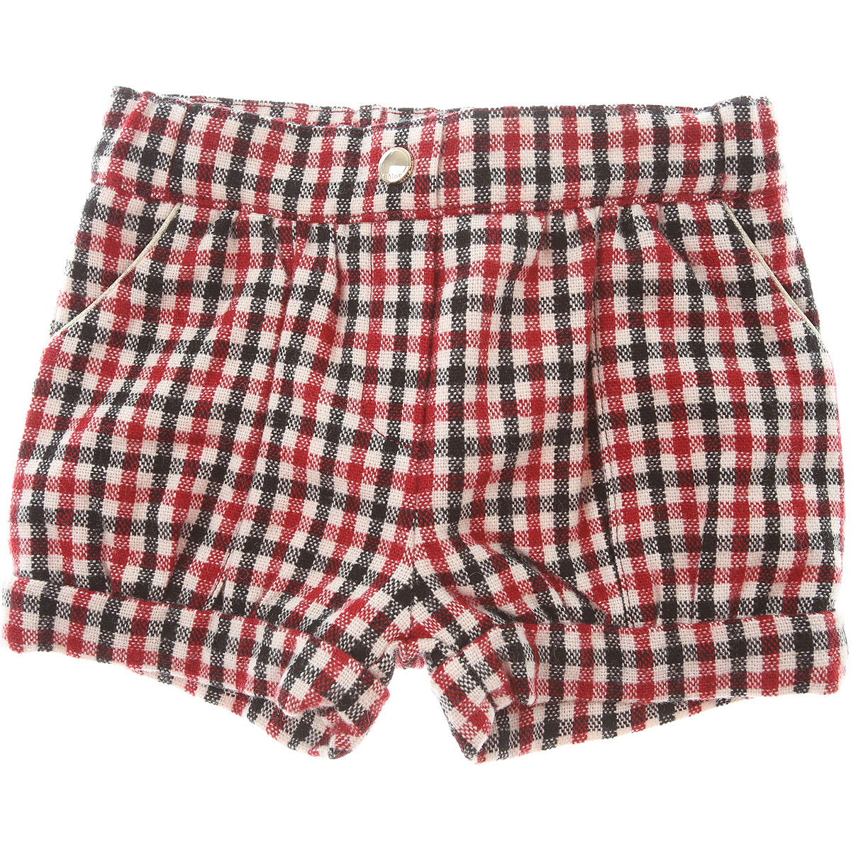 Chloe Baby Shorts for Girls On Sale, Red, Acrylic, 2019, 12M 6M 9M