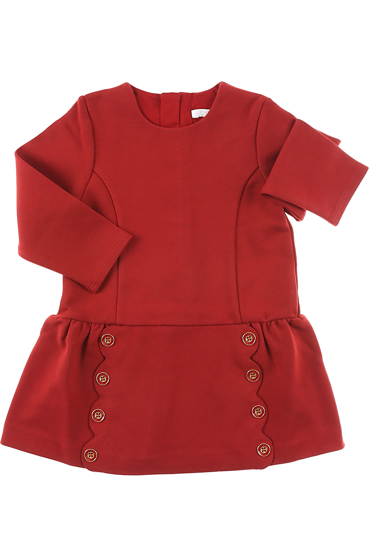 Image of Chloe Baby Dress for Girls, Amaranth, Cotton, 2017, 12M 18M 2Y 3Y 6M 9M