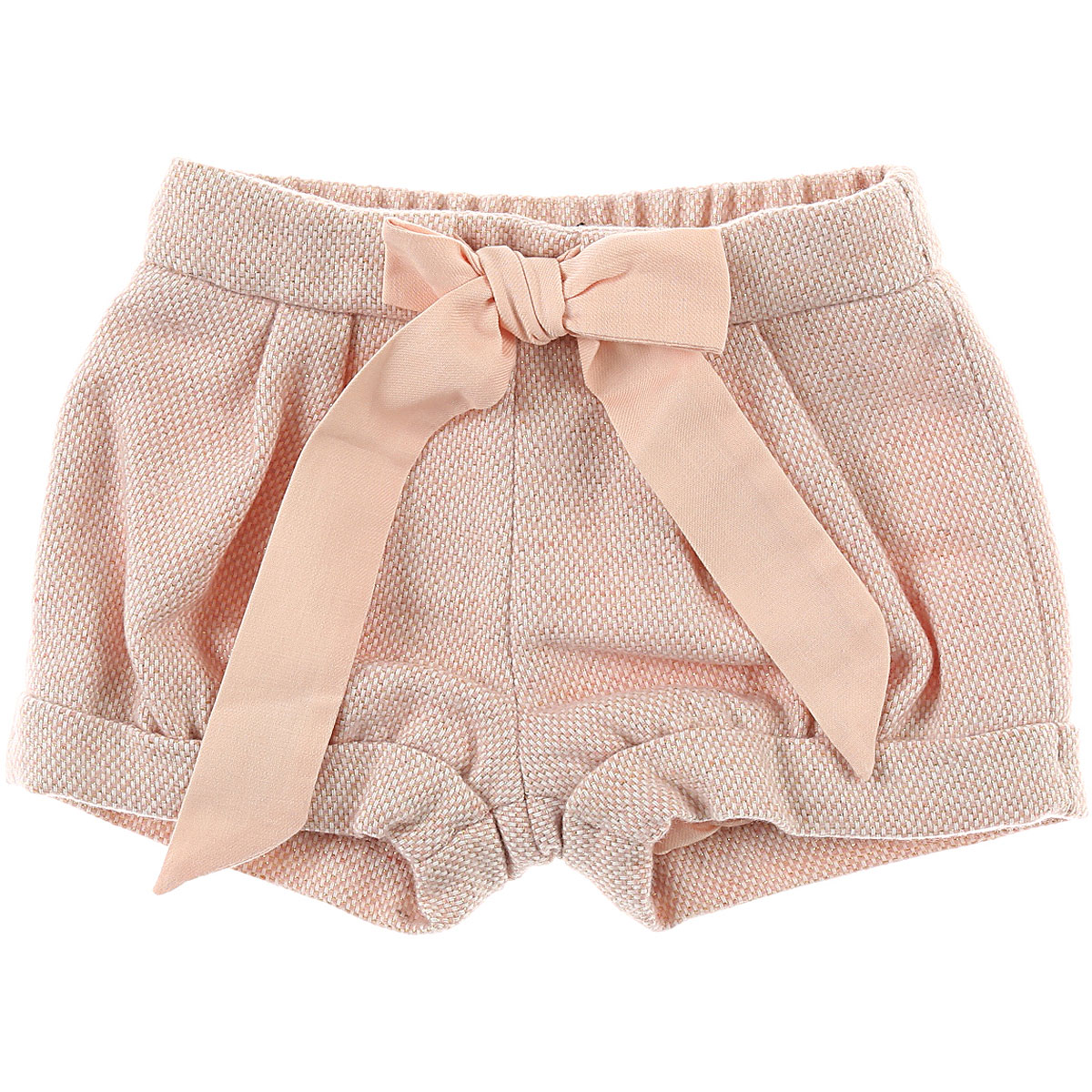 Image of Chloe Baby Shorts for Girls, Pink, Acrylic, 2017, 12M 18M 2Y 3Y 6M 9M
