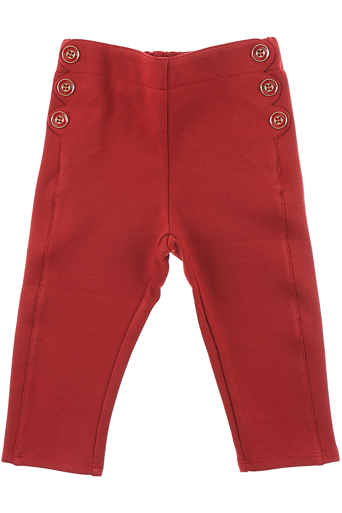 Image of Chloe Baby Pants for Girls, Amaranth, Cotton, 2017, 12M 18M 2Y 3Y 6M 9M