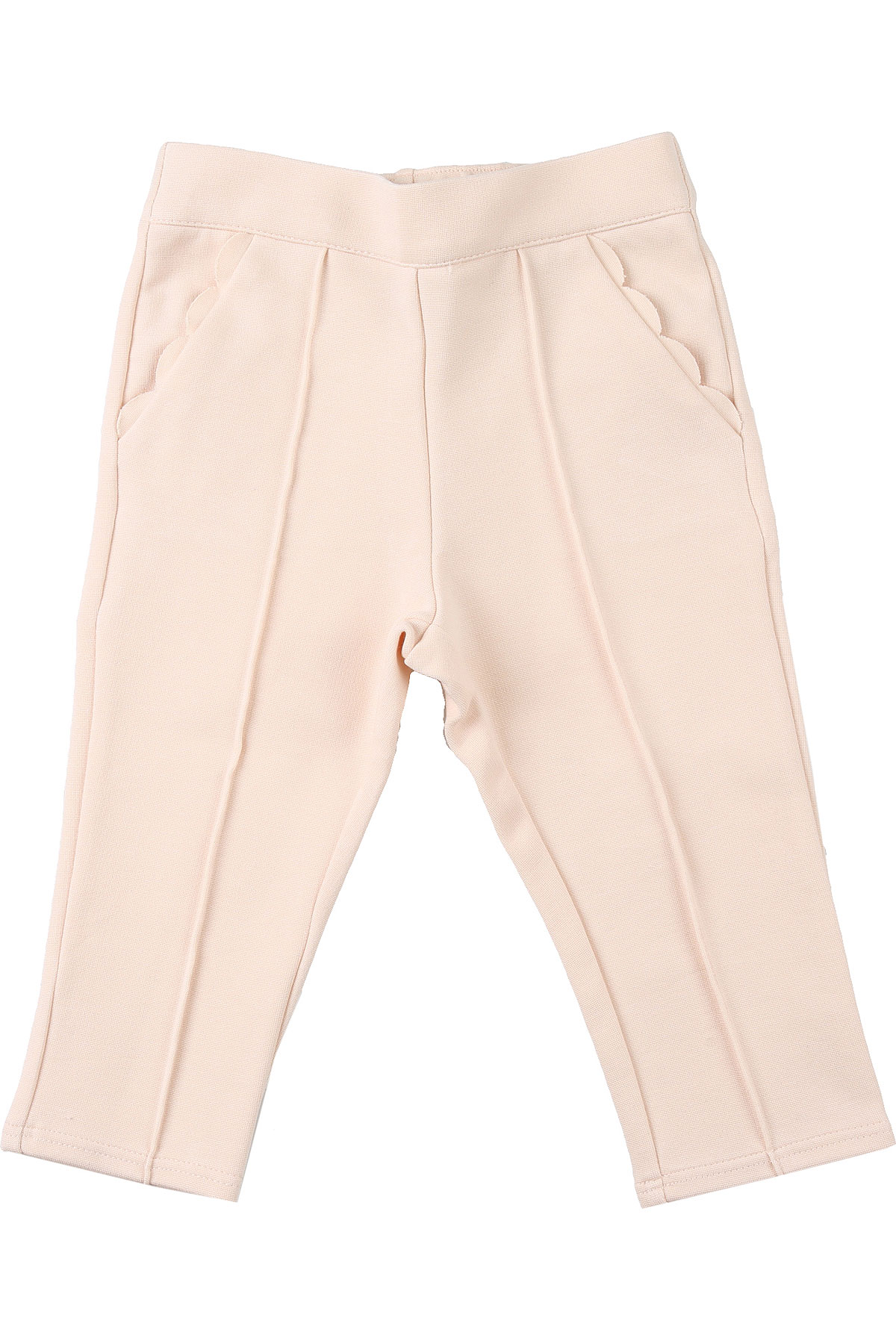 Chloe Baby Pants for Girls On Sale, Powder Rose, Cotton, 2019, 2Y 6M 9M